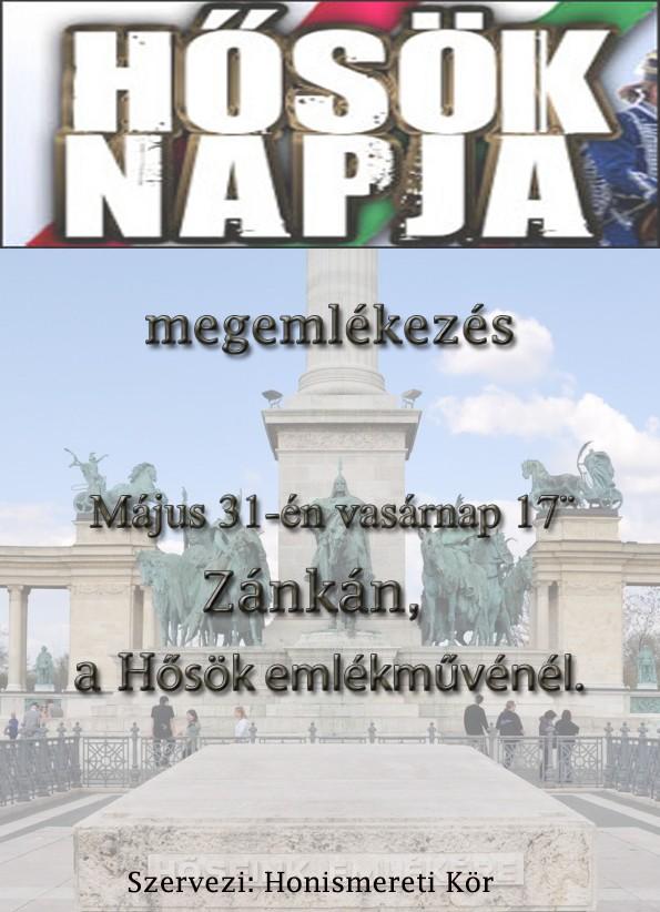 2015 Hősök napja plakát