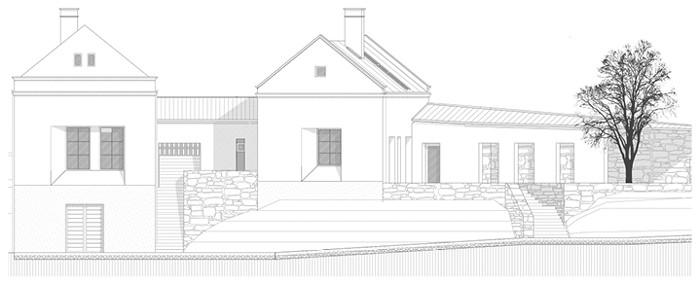 gyógynövény épület rajz